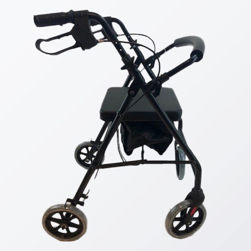 4 Wheel Aluminium Rollator