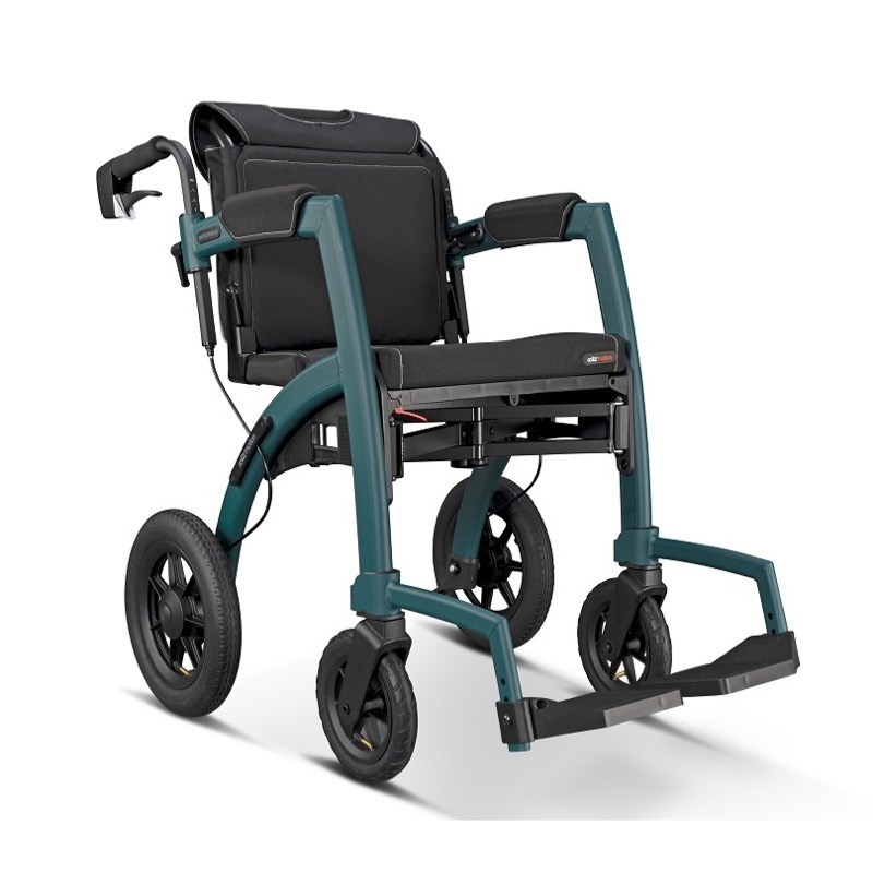 Rollz Motion Performance All-Terrain Rollator and Wheelchair