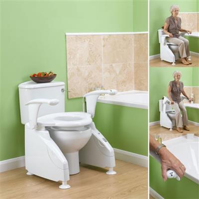 Mountway Solo Powered Toilet Lift Raised Toilet Seats